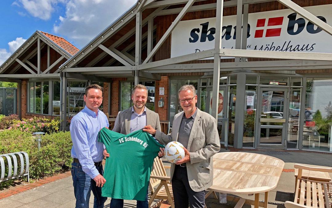 Skanbo wird neuer Partner des FC Schönberg 95