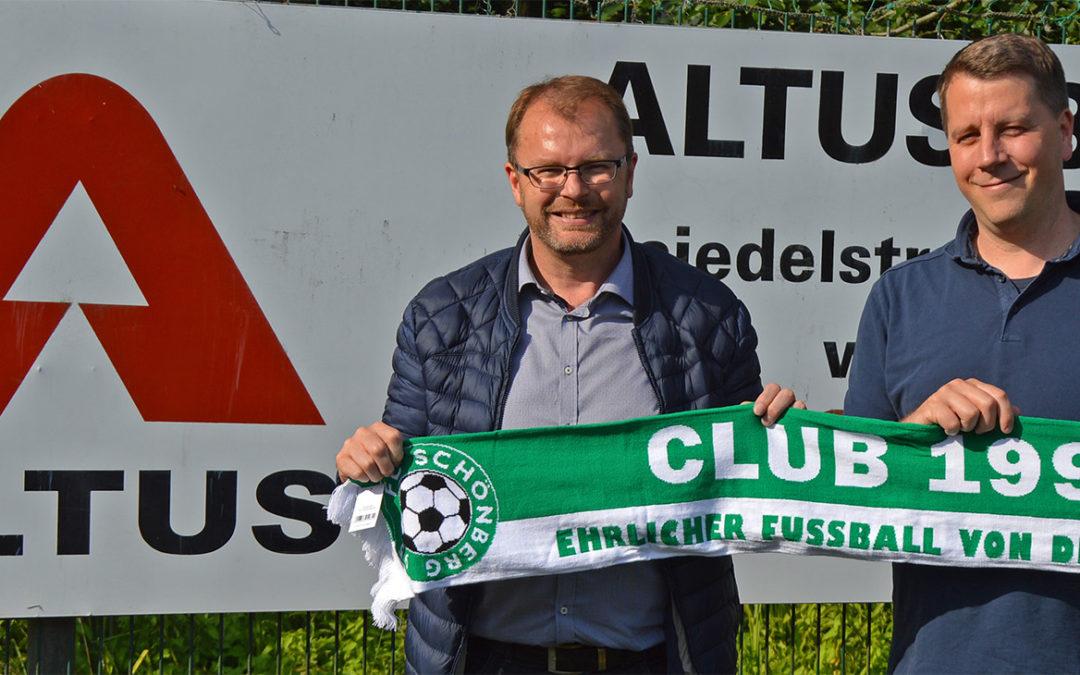 Thomas Becker neues Mitglied  im Club 1995
