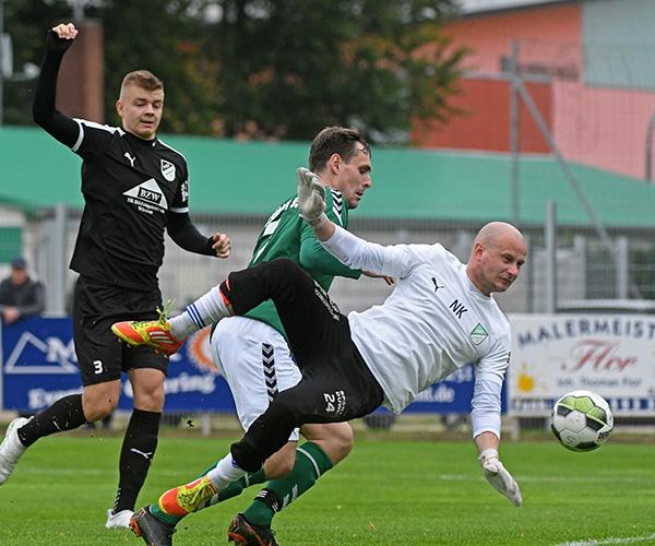 An allen 5 Toren beteiligt: Hannes Komoss!