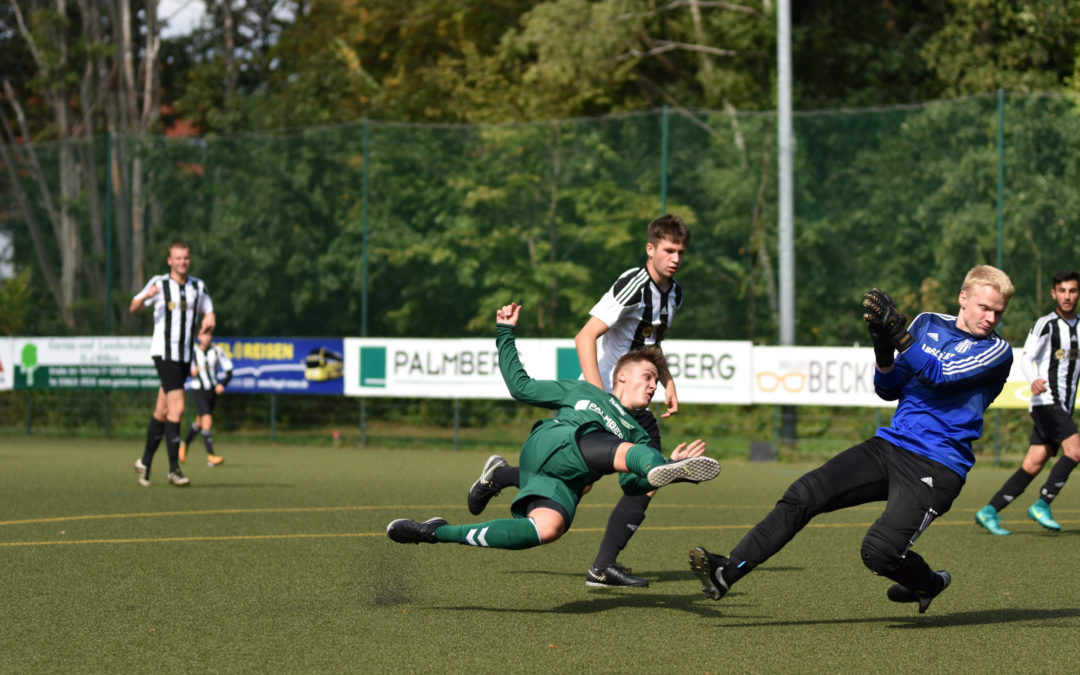 A-Junioren verlieren K(r)ampfspiel gegen FSV Bentwisch
