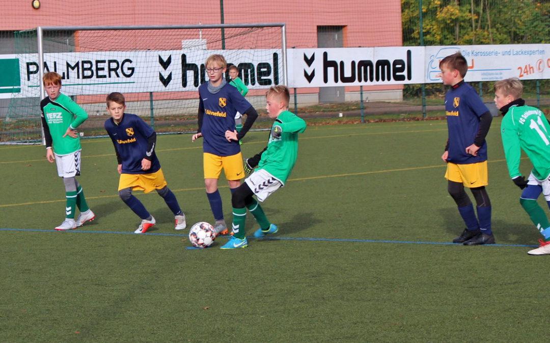 D1 des FC 95 stürzt Tabellenführer