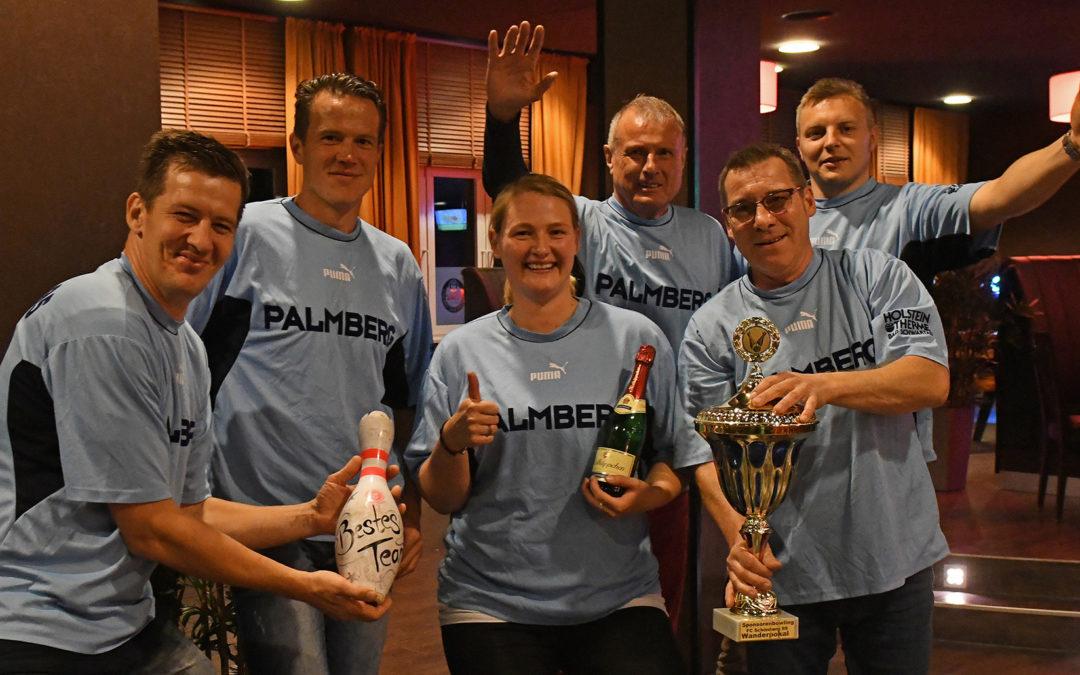 Palmberg verteidigt Bowlingtitel