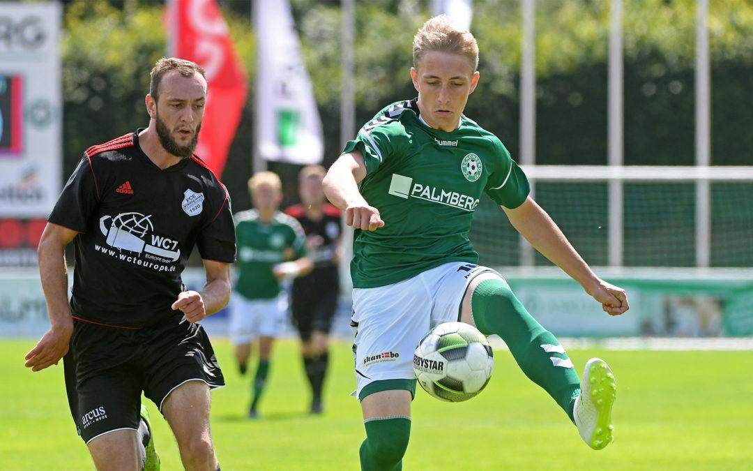 Finn Burmeister bis 2020 ein Maurine-Kicker
