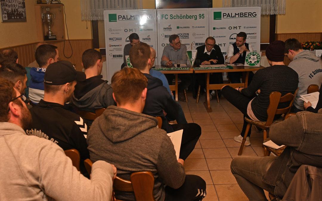 Mitgliederversammlung des FC Schönberg 95