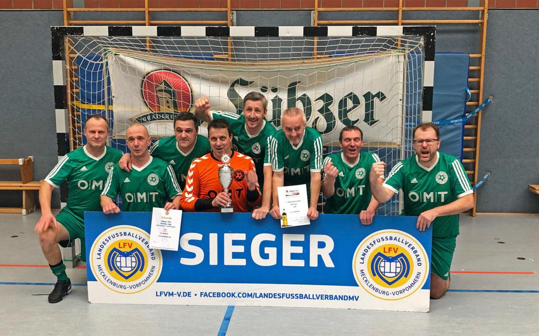 Ü50-Team wird Futsal-Landesmeister