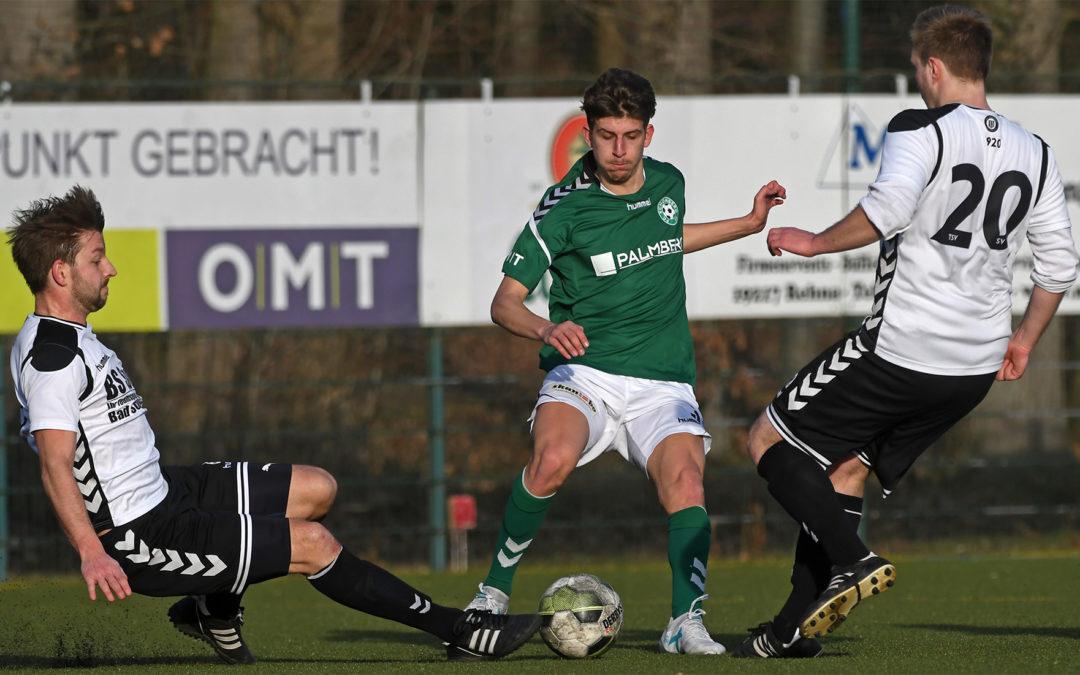 Generalprobe  verloren – 0:1 gegen Pansdorf