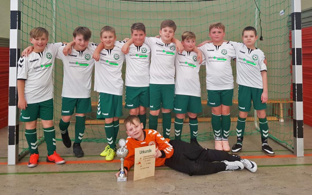 E1-Junioren beenden Hallensaison mit 4. Platz
