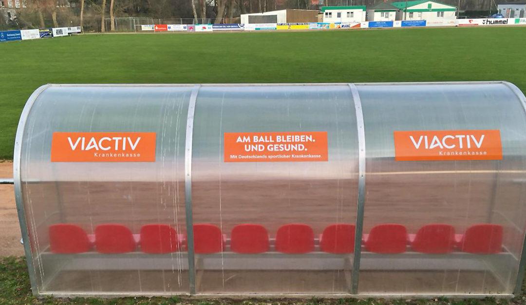 VIACTIV-Krankenkasse begleitet FC 95 auch in neuer Saison