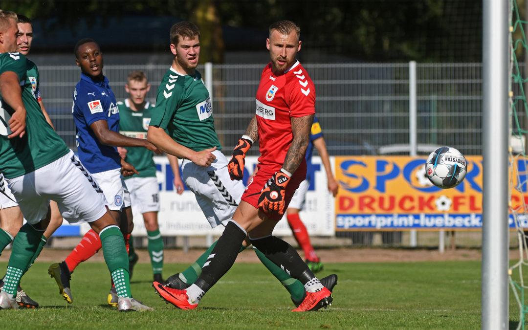 Gute Stimmung trotz 0:13 gegen Holstein Kiel