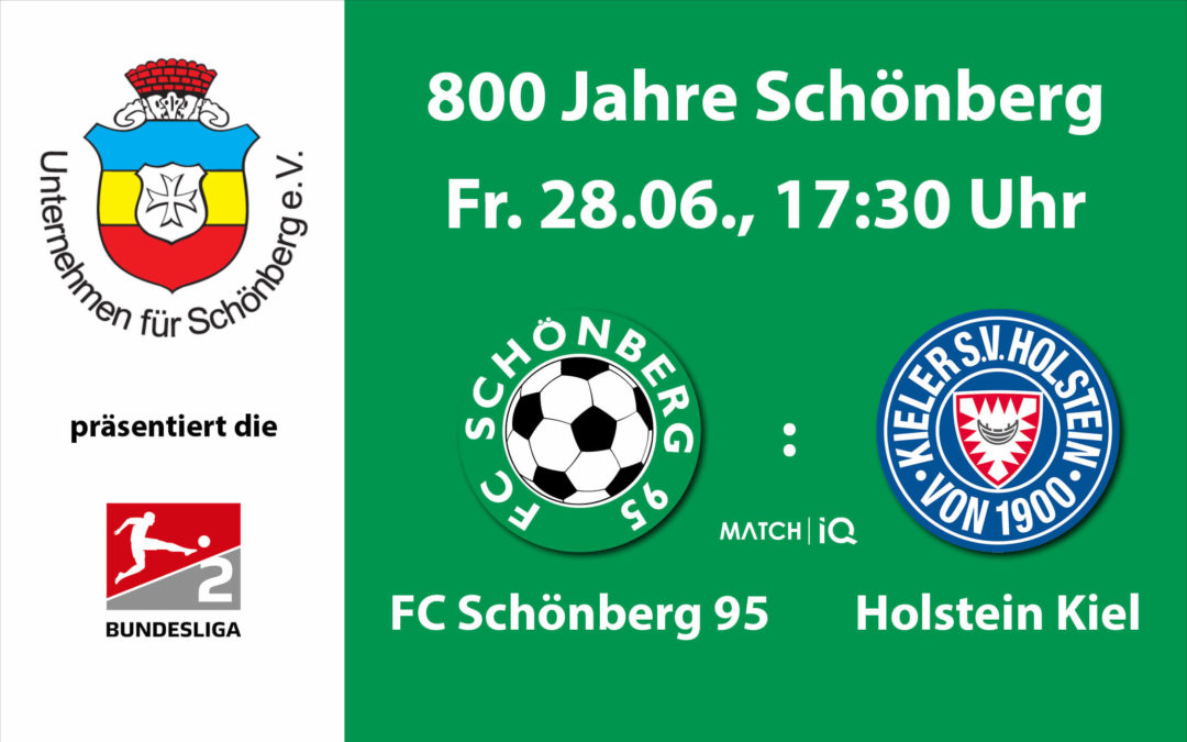 Unternehmen für Schönberg präsentiert Holstein Kiel