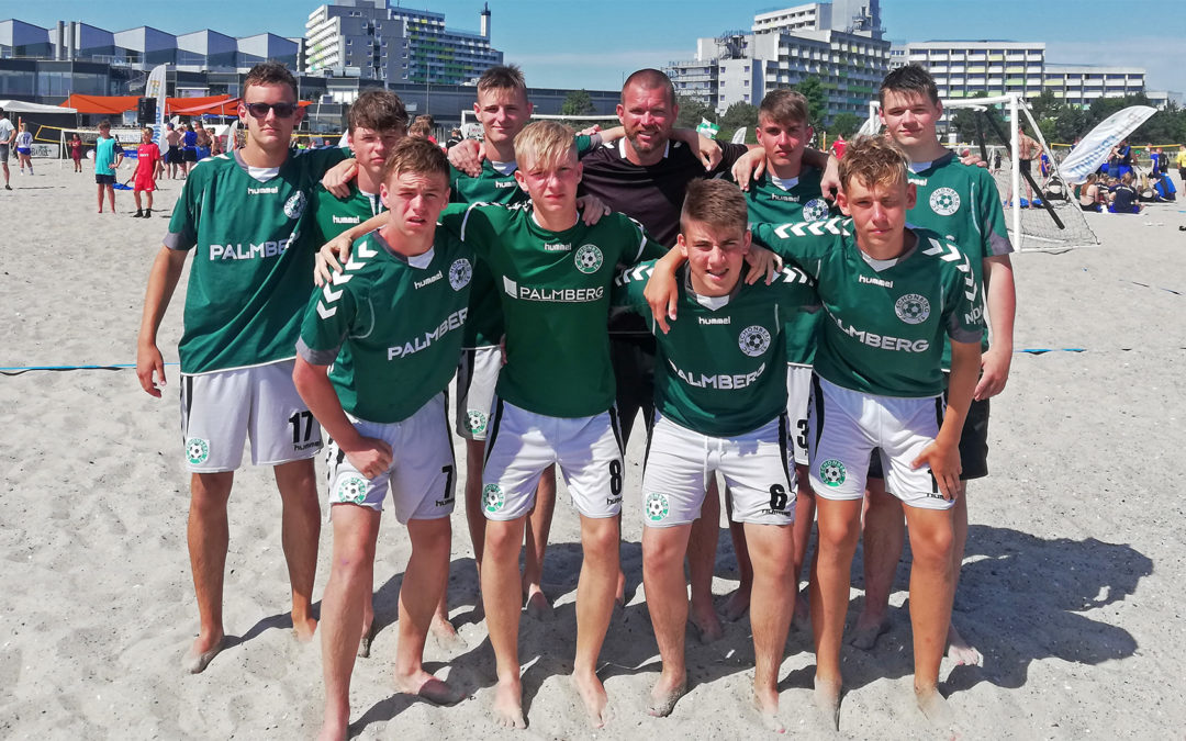 U17 beim Beachsoccer Cup in Damp