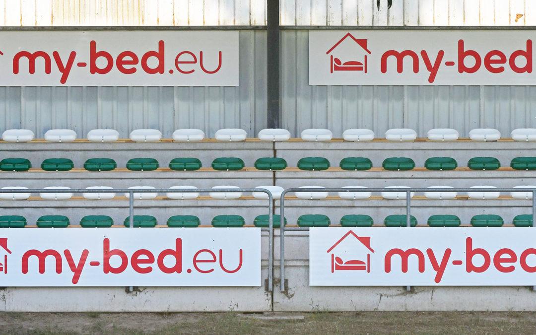 """""""my-bed.eu"""" neuer Partner des FC Schönberg 95"""