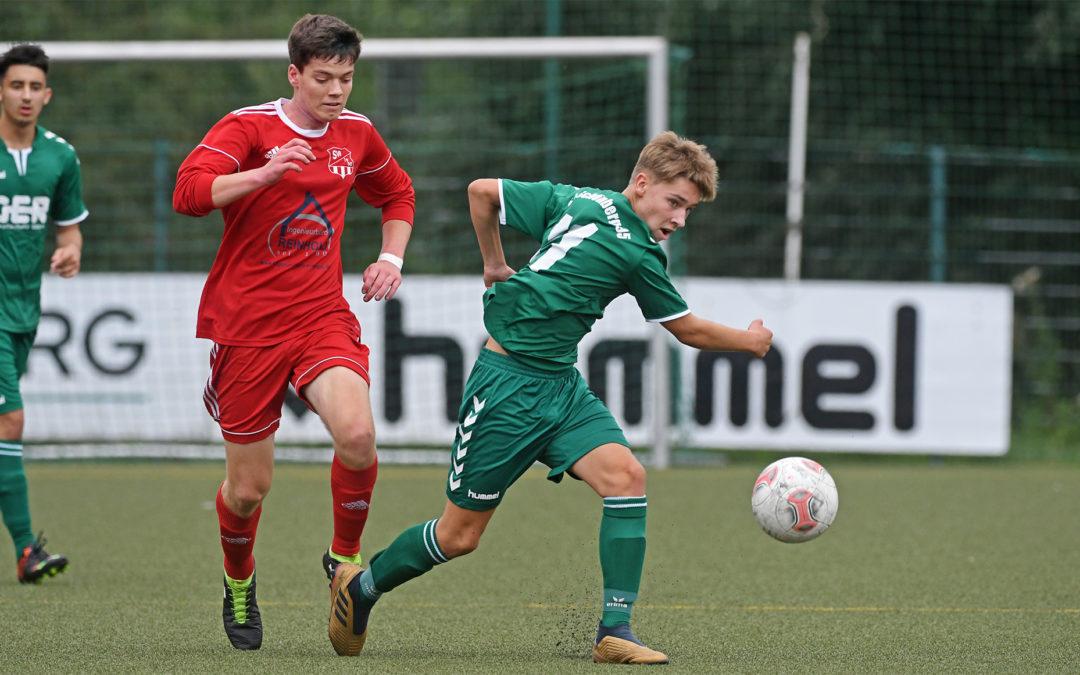 U17-Maurine-Kicker drehen 0:2 Rückstand