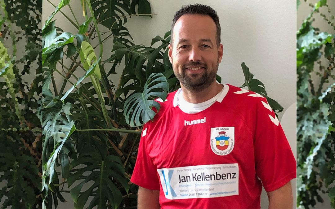 Sondertrikot findet Weg zu Jan Kellenbenz