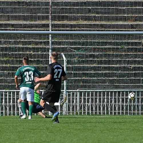 Da war der Deckel drauf: 0:4 durch Marcel Behm!