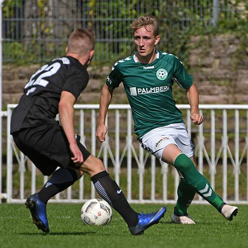 Finn Lukas Burmeister hatte zu Beginn der zweiten Halbzeit das 0:3 auf dem Fuß.