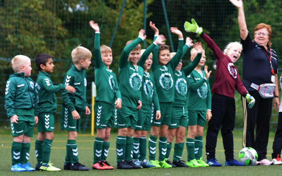 F-Junioren erzielen drei Tore gegen den Mecklenburger SV
