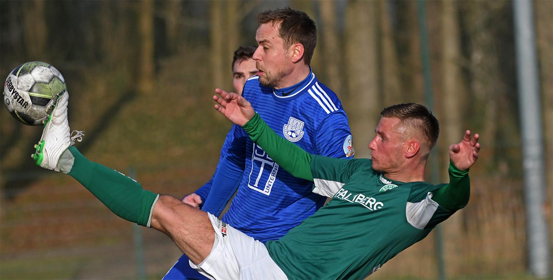 Marcel Behm traf zum 3:1 für den FC Schönberg 95.