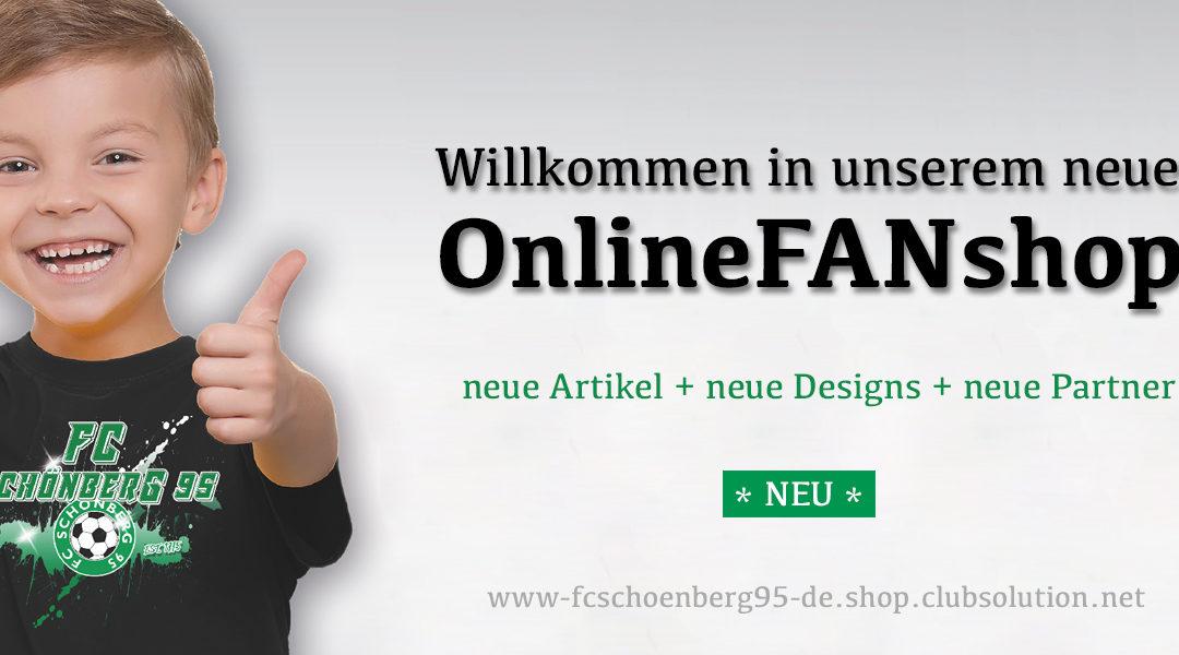 Wir schenken Euch zu Ostern neuen OnlineFANshop