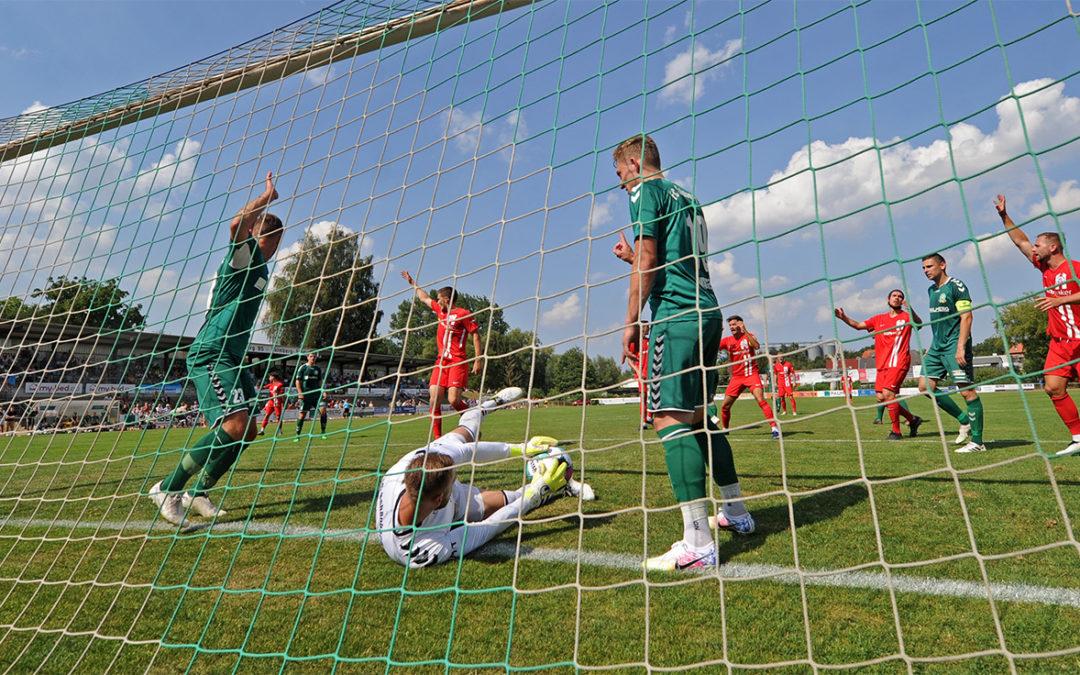 Hansa dominiert das Pokalhalbfinale