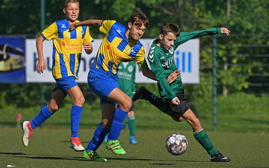 C-Junioren gegen Lübz in Torlaune