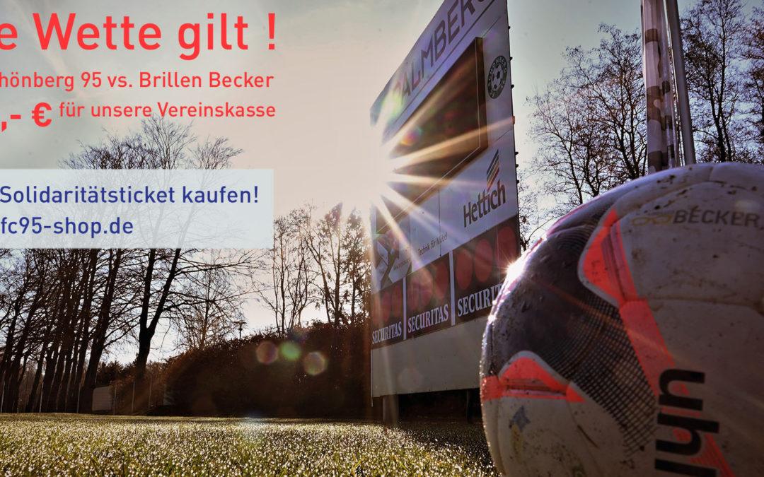 Uwe Becker fordert alle Maurine-Kicker heraus