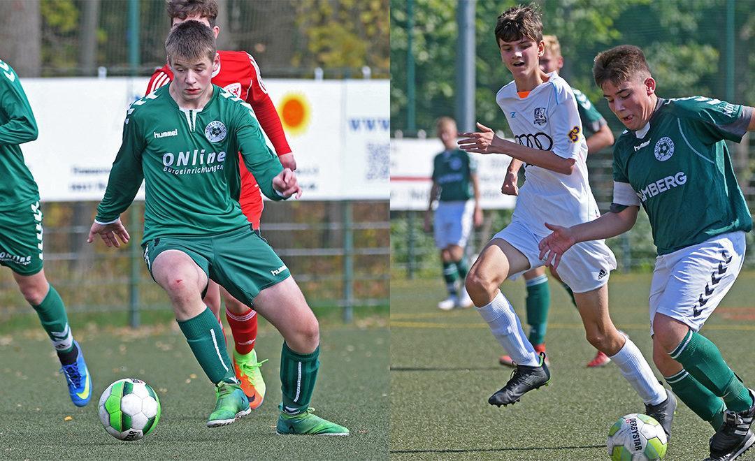 2 Talente rücken in Verbandsligamannschaft auf