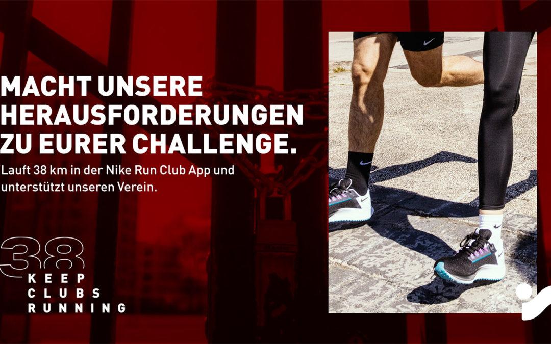 """Maurine-Kicker nehmen an """"KEEP CLUBS RUNNING"""" teil"""