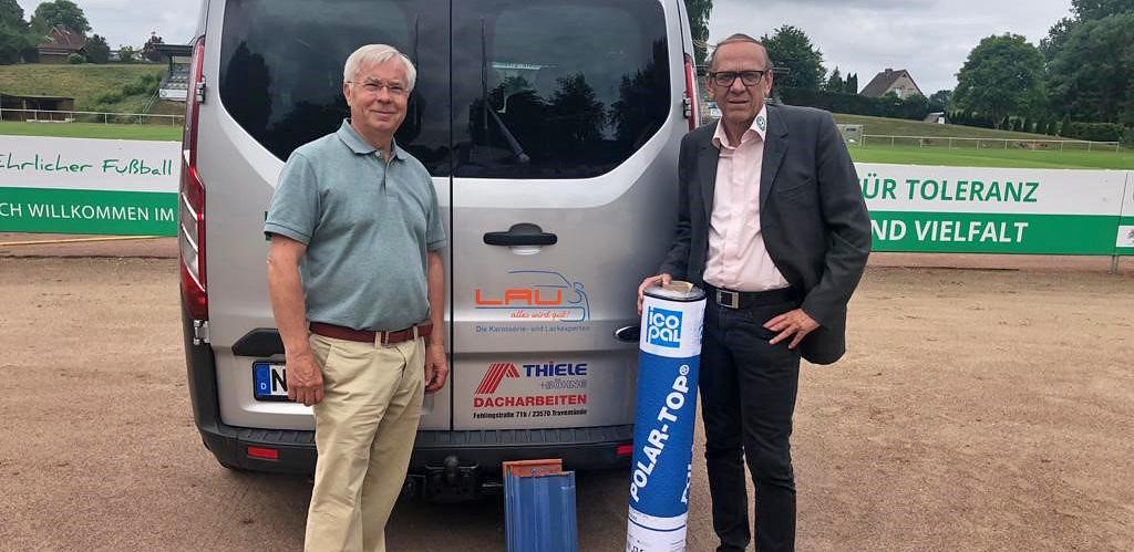 Thiele & Söhne GmbH & Co KG unterstützt Maurine-Kicker