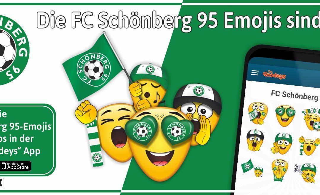 Wir präsentieren die FC95-Emojis