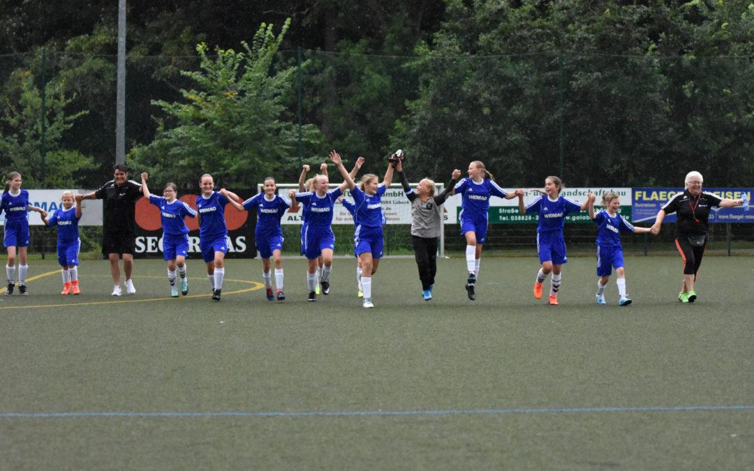 Unsere Mädchenmannschaft gewinnt trotz Niederlage