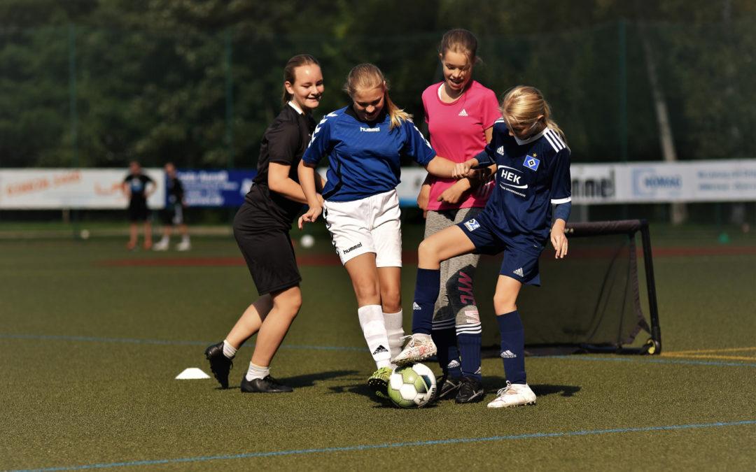 Tag des Mädchenfußballs in Schönberg war voller Erfolg